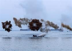 漢光演習之聯興操演 兩棲突擊車加祿堂搶灘登陸
