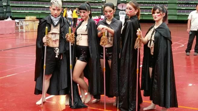 國際街舞大賽,桃園市熱鬧舉行。(甘嘉雯攝)