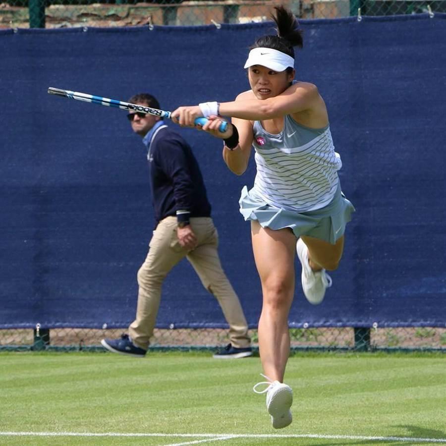 莊佳容在WTA康乃狄克公開賽打進女雙4強。(摘自莊佳容臉書)