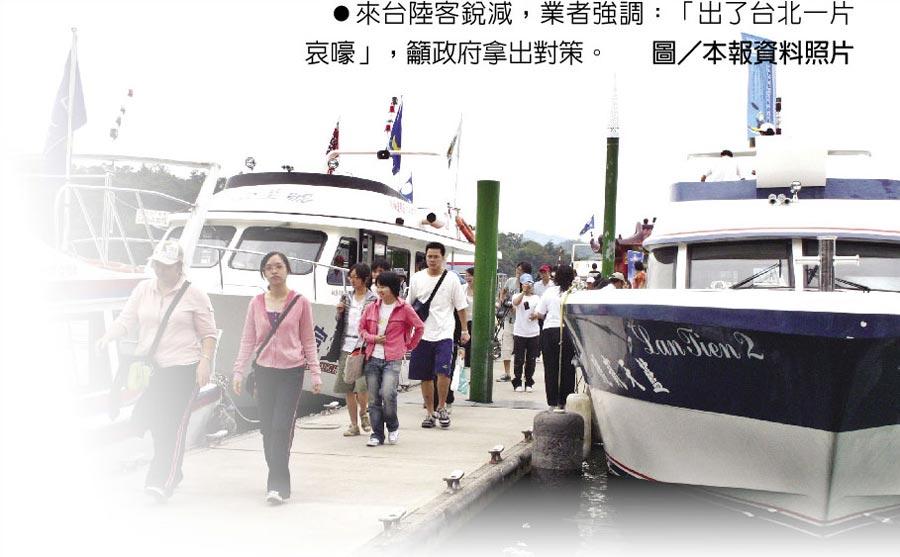 來台陸客銳減,業者強調:「出了台北一片哀嚎」,籲政府拿出對策。圖/本報資料照片