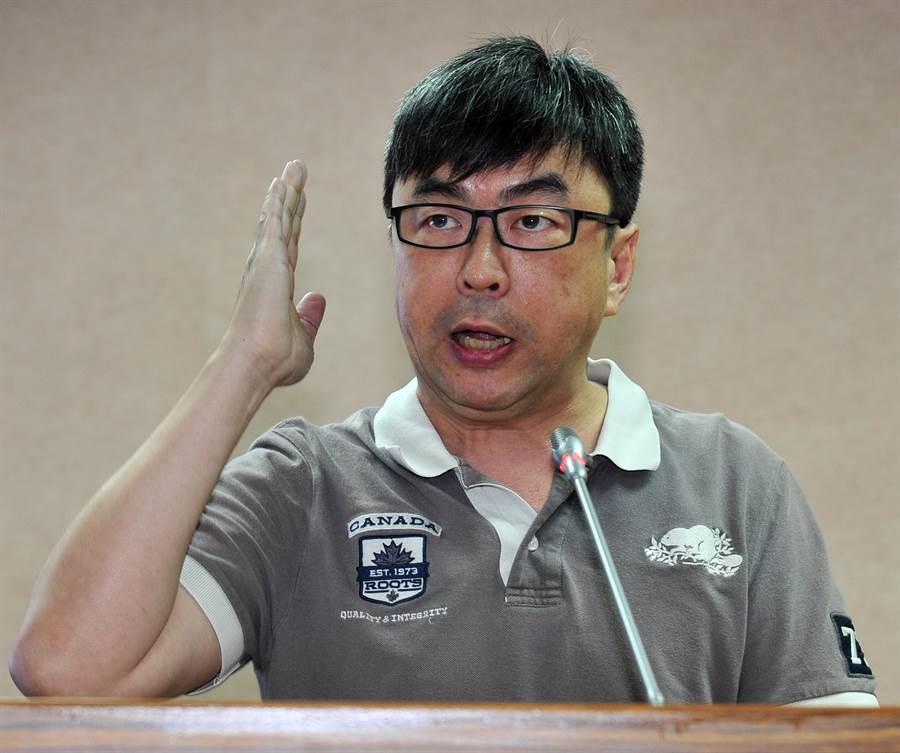 國民黨文傳會副主委李明賢諷段宜康(圖):這是丟立委前最後的瘋狂!(本報系資料照片)