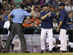 MLB》主審心情不好 老虎一場被驅逐4人