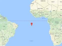 南大西洋阿森松島發生規模7.1地震 無海嘯警報