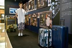 簡嫚書化身外星攝影師 突襲好友行李箱