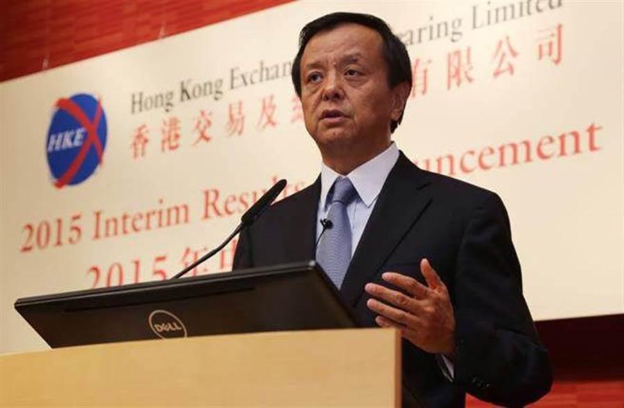 港交所行政總裁李小加於去年(2015年)8月12日即表示,深港通的技術準備工作已完成。(新華社資料照片)