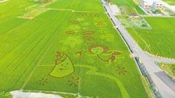 稻田彩繪 為三春老樹增色