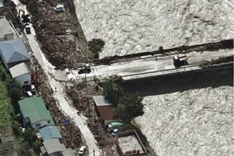 獅子山颱風登陸日本 淹水潰堤11死3失蹤