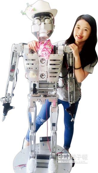 祥儀自製機器人 首度登場