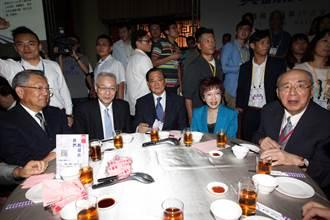 國民黨全代會吃梅花餐  副主席認桌
