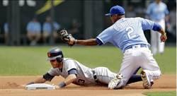 MLB》牛棚挨轟 皇家遭老虎逆轉