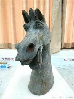 四川博物館東漢怪馬頭 網友:史瑞克驢子穿越