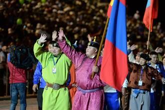 騎馬射箭角力 第二屆草原奧運在中亞