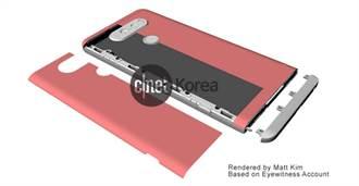 LG V20設計圖曝光 模組化設計遭棄