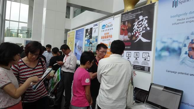 龔明鑫在「早期投資生態與台灣產業鏈」場次擔任主持人時表示,台灣需要更多、更大量的天使資金,協助新創事業長大,好為台灣產業進結構改變。(陳碧芬攝)