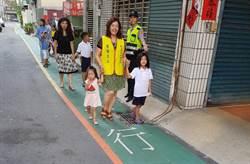 中市巷道標線型人行道反應佳 地方爭取增設