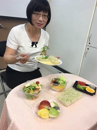 生菜沙拉水果病菌多  外食族洗過再吃