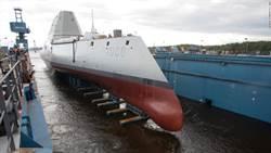 美國最大隱形驅逐艦將入列海軍服役