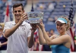 美網》他和她首次搭檔 就拿下大滿貫賽冠軍