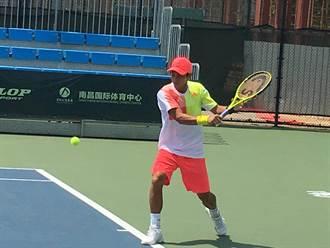 網球》忍水泡疼痛 盧彥勳克陳迪南昌挑戰賽晉級