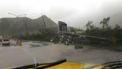 【強颱現場】屏東枋寮水淹及膝 水陸兩用車出動撤居民
