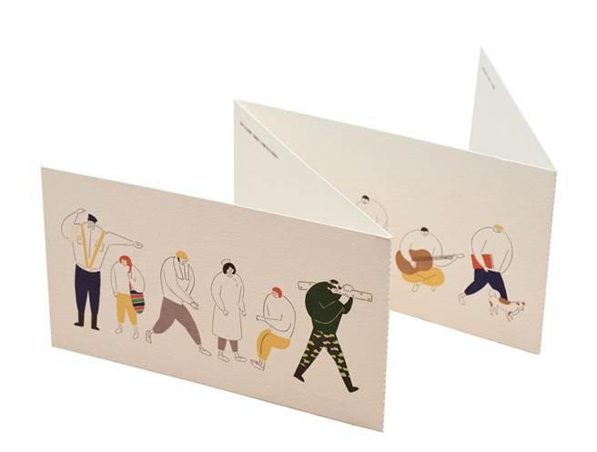 中華郵政18日起代銷「國家因你而偉大萬用卡」,紙製卡片,一套4張,售價新台幣300元,中華郵政表示,卡片製作業者指定在總統府郵局銷售。(中華郵政提供)中央社記者汪淑芬傳真 105年9月14日