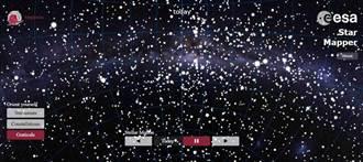蓋亞太空望遠鏡 繪出最詳盡銀河地圖