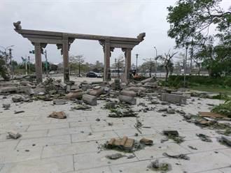 【颱風災情】莫蘭蒂17級風狂掃金門 網驚「比砲戰還嚴重」