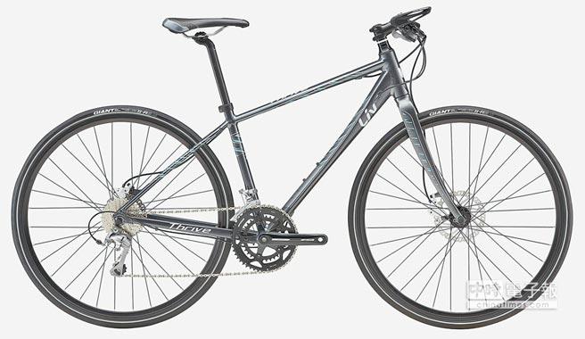 捷安特自行車品牌Liv,推出運動健身平把公路跑車Thrive 1 Disc。