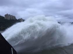颱風馬勒卡雨不多   石門水庫停排洪