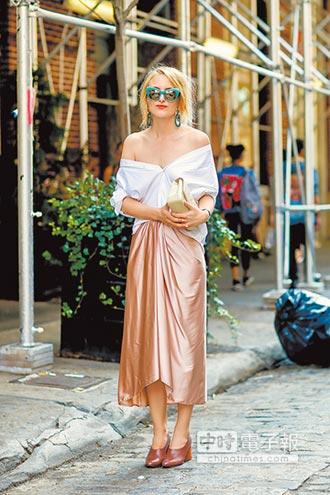 街頭時尚-穿襯衫的都不正經