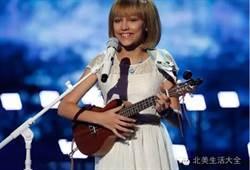 美12歲女孩贏得達人秀百萬大獎