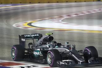 F1新加坡大獎賽  羅斯柏格飆速奪桿位