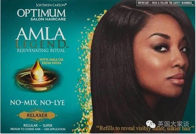 歐萊雅化妝品公司直髮霜,造成消費者使用掉髮。(圖/取自微信英國大家談)