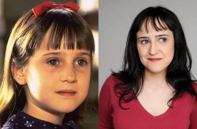 昔日童星瑪拉威爾森因演出《小魔女》爆紅。(圖/取材自網路)