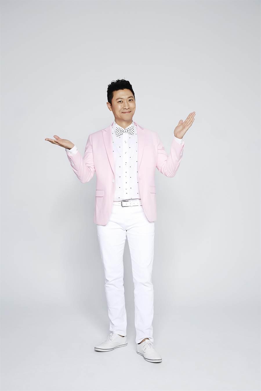 林書煒將與侯昌明搭檔主持廣播金鐘。(圖片提供:三立電視台)