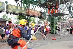 國家防災日宣導 宜蘭孩童體驗直呼:好恐怖!