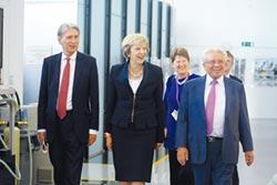 英國首相梅依 參訪華威大學與IMC