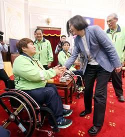 里約帕運》總統接見代表團 鼓勵選手活出自信