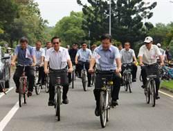 嘉大無主單車  整修成綠能代步車