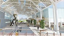 基隆轉運站砸3.1億大翻新 增設天橋、電梯等 改為「永久性」使用