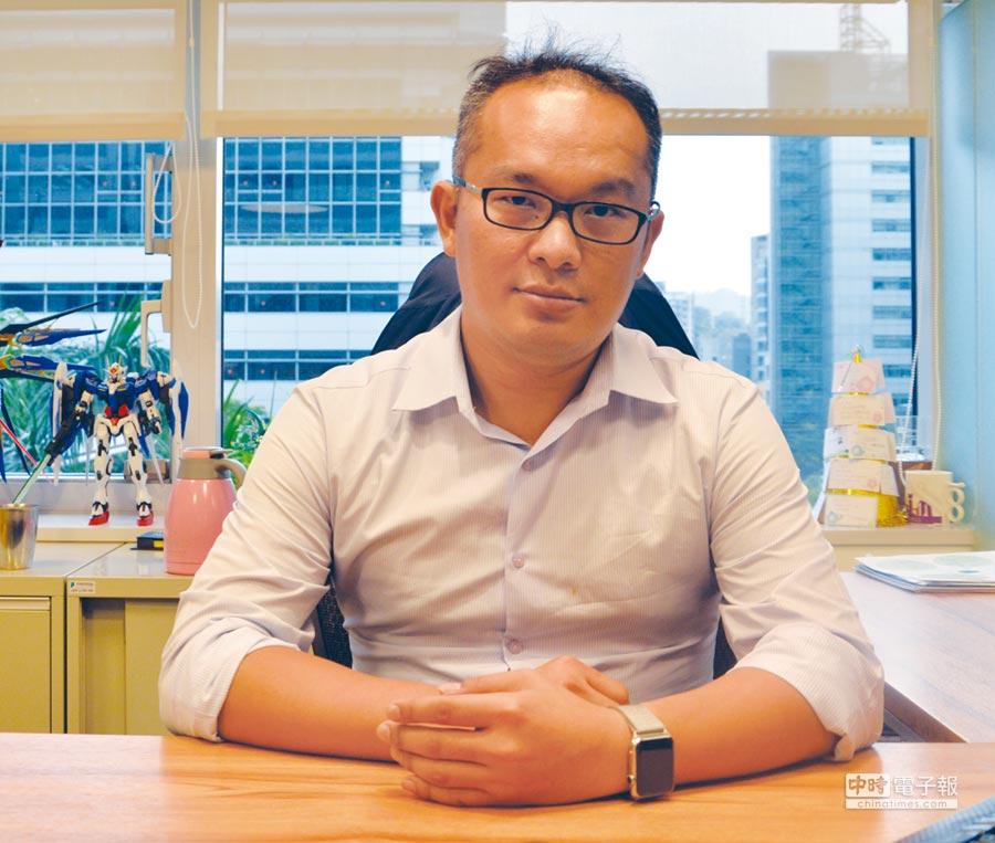 自由系統總經理俞伯翰帶領專業團隊,在生技產業的IT委外市場,打下一片江山。圖文/利漢民
