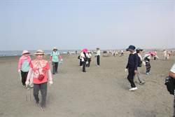 福智佛教基金會攜手慈濟功德會 龍崗國小西側海岸線淨灘