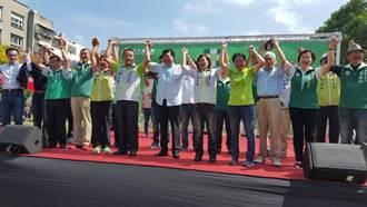 民進黨桃園黨慶 目標市長連任、議會過半