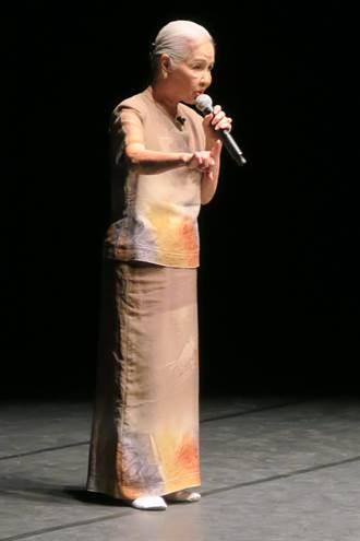 台中歌劇院講座 廖瓊枝唱哭調驚艷全場