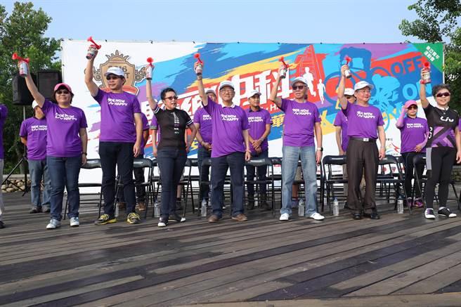 「2016捷安特自行車嘉年華-Liv女子挑戰賽」,今日在中科水崛頭公園熱鬧登場!(陳世宗攝)