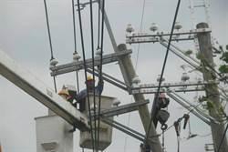 全台182萬戶停電 核一二廠避風降載發電