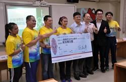 奧運金牌舉重女將許淑淨回母校 慷捐20萬元體育班發展基金