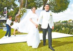 薛博仁結婚誓詞耍心機放送甜蜜 陳怡蓉激吻尪「謝謝你愛我」
