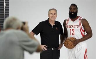 NBA》火箭哈登「正名」 新球季改打控衛
