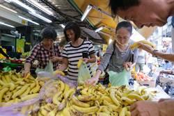 梅姬颱風遠離本島 民眾上街買菜